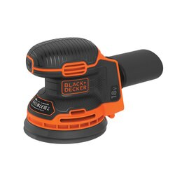 Black and Decker - 18V Lithiumion Cordless Random Orbital Sander without battery - BDCROS18N