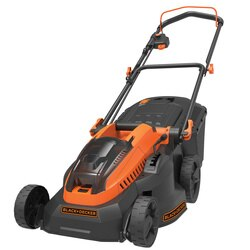 Black and Decker - 36V 25Ah 38cm Autosense Grasmaaier met 2 accus - CLM3825L2