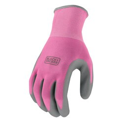 Black and Decker - Pink Ladies Foam Nitrile Grip Glove - BD512