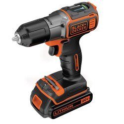 Black And Decker - 20V MAX Lithium DrillDriver with AutoSense Technology - BDCDE120C