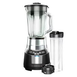 Black and Decker - FusionBlade Digital Blender with Personal Smoothie Jar - BL1820SG-P