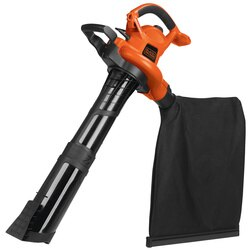 Black and Decker - 12 Amp High Performance BlowerVacuumMulcher - BV6600
