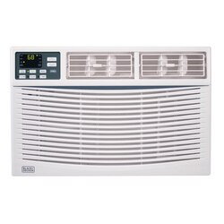 Black and Decker - 12000 Energy Star Electronic Air Conditioner with Remote - BWAC12WT