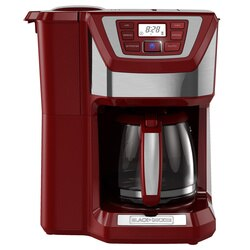 Black and Decker - 12Cup MillBrew Coffee Maker - CM5000RD
