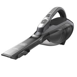 Black and Decker - dustbuster Hand Vacuum Titanium with Scent  Base Charger - HLVA325BS21