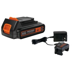Black and Decker - 20V MAX Lithium Ion Battery  Charger - LBXR20CK