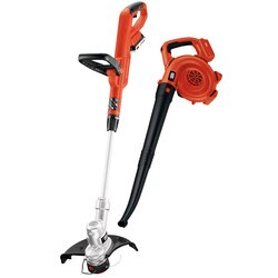 Black and Decker - 20V MAX String Trimmer  Sweeper Lithium Ion Combo Kit - LCC300
