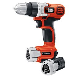 Black and Decker - 12V MAX Lithium DrillDriver with 2 Batteries - LDX112C-2