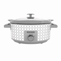 Black and Decker - 7Quart Slow CookerGeometric - SC1007D