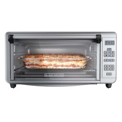 Black and Decker - 8Slice Digital ExtraWide Convection Oven - TO3290XSD