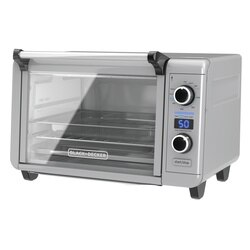 Black and Decker - Crisp N Bake Air Fry Digital Convection Countertop Oven - TOD3315G