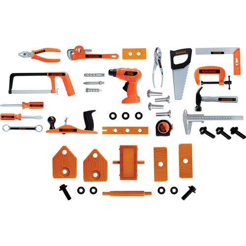 Black and Decker - Deluxe Tool Set w Toolbox - 90320