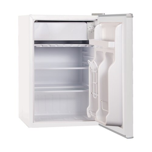 Black and Decker - 25 Cu Ft Energy Star Refrigerator with Freezer White - BCRK25W