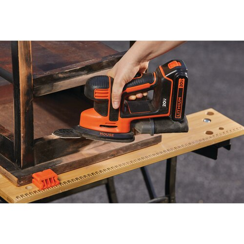 Black and Decker - 20V MAX Corded DrillDriver and MOUSE Detail Sander Combo Kit - BD2KITCDDS
