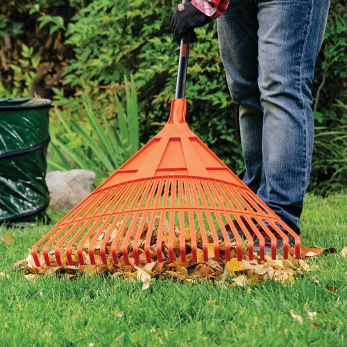 Black And Decker - 24 Poly Rake with Glove Combo Pack - BD3205