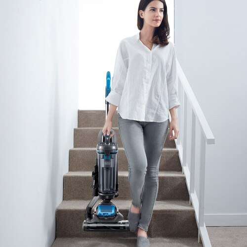 Black and Decker - AIRSWIVEL Ultra lightweight Upright Vacuum Cleaner  Versatile - BDASV101