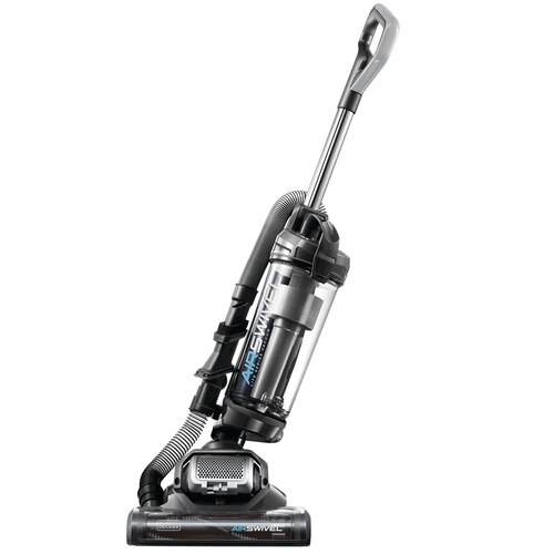 Black and Decker - AIRSWIVEL Ultra lightweight Upright Vacuum Cleaner  Versatile Plus - BDASV104