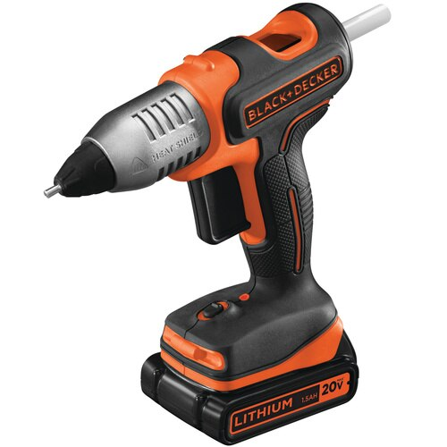 Black and Decker - 20V MAX Cordless Glue Gun - BDCGG20C