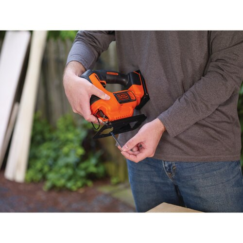 Black and Decker - 20V MAX Cordless Jigsaw - BDCJS20C