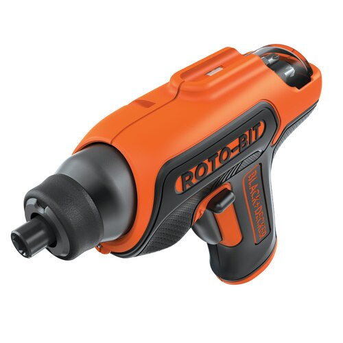 Black and Decker - 4V MAX ROTOBIT Storage Screwdriver - BDCS50C