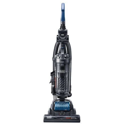 Black and Decker - BLACKDECKER POWERSWIVEL Upright Vacuum Cleaner  Complete  Blue - BDPSC103