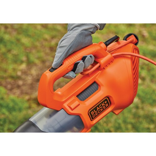 Black and Decker - 9 Amp Electric Axial Leaf Blower - BEBL750