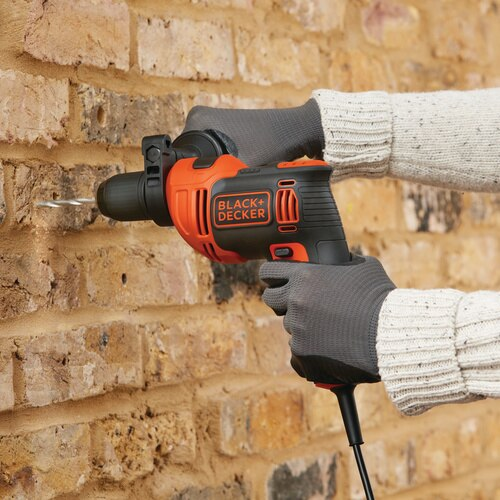 Black and Decker - 65 Amp 12 in Hammer Drill - BEHD201