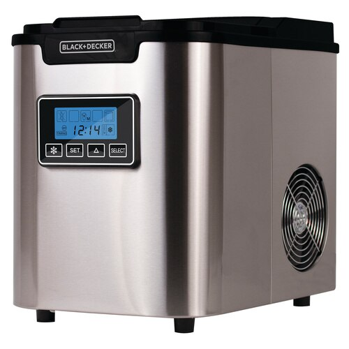 Black and Decker - 26 lb Capacity Ice Maker - BIMY126S