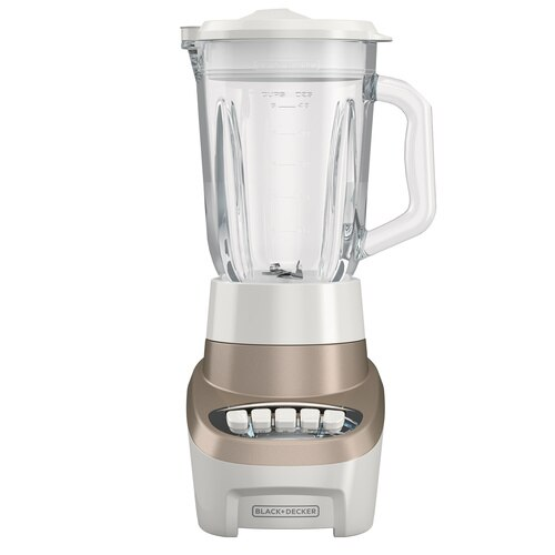 Black and Decker - MultiFunction Blender with 6Cup Glass Jar 4 Speed Settings - BL1220GG