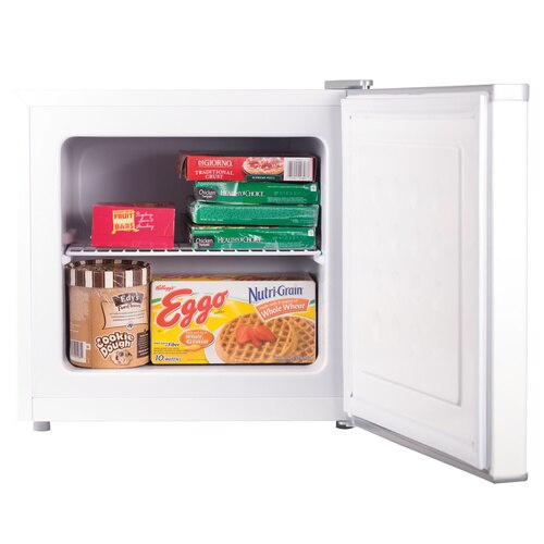 Black and Decker - 12 Cu Ft Compact Upright Freezer - BUFK12W
