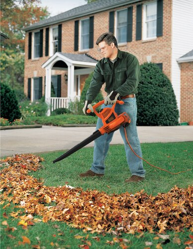 Black and Decker - 12 Amp BlowerVacuumMulcher - BV3100