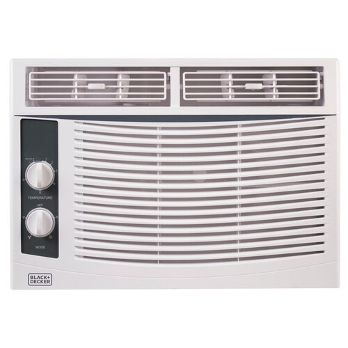 Black and Decker - 5000 BTU Mechanical Window Air Conditioner - BWAC05MWT