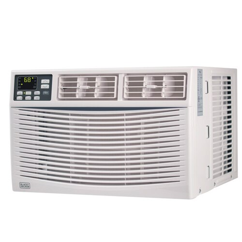 Black and Decker - 6000 BTU Energy Star Electronic Air Conditioner with Remote - BWAC06WT