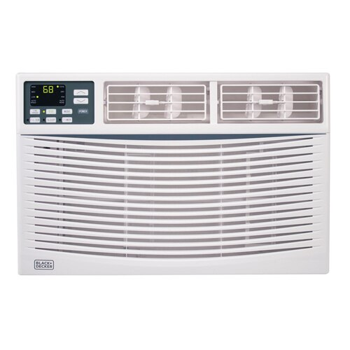 Black and Decker - 10000 BTU Energy Star Electronic Window Air Conditioner With Remote - BWAC10WT