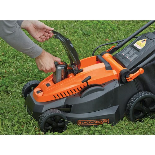 Black and Decker - 40V MAX Lithium 16 inch Mower - CM1640