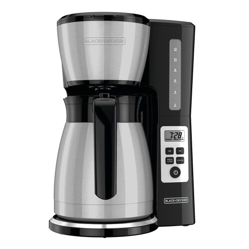 Black and Decker - 12Cup Thermal Programmable Coffeemaker - CM2046S