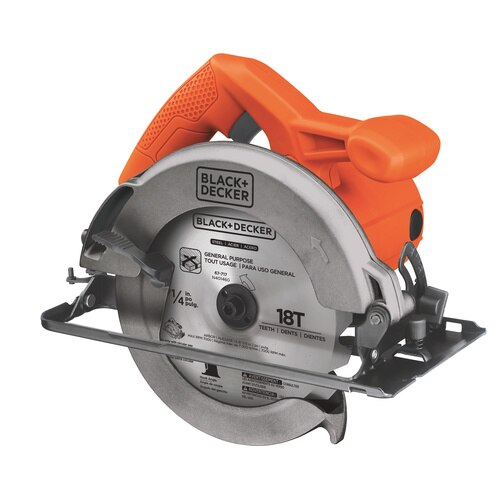 Black and Decker - 12 Amp 714 in Circular Saw - CS1014