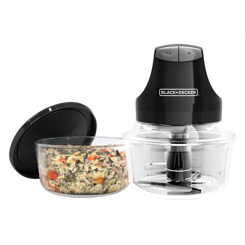 Black and Decker - Glass Bowl Chopper - EHC3002B