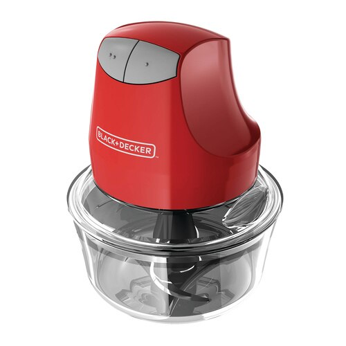 Black and Decker - Glass Bowl Chopper - EHC3002R