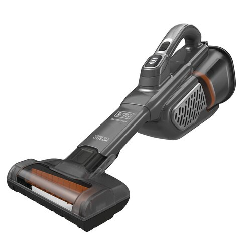 Black and Decker - 12V MAX dustbuster AdvancedClean Cordless Handheld Vacuum with Powered Pet Head - HHVK320JZ01
