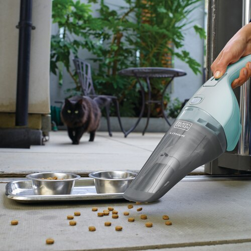 Black and Decker - dustbuster Hand Vacuum Mint - HNV220BCZ12