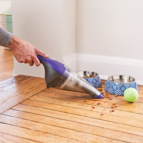 Black And Decker - dustbuster Pet Hand Vacuum Purple - HNVC220BCP07
