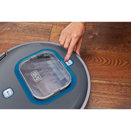 Black and Decker - Lithium Ion Robotic Vacuum with SMARTECH - HRV415B00