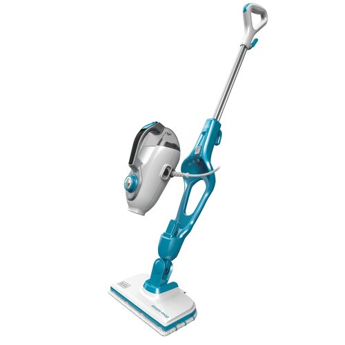 Black and Decker - 2in1 STEAM MOP and Portable Steamer - HSMC1321