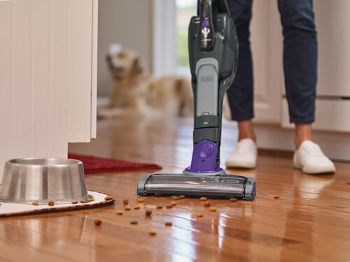 Black and Decker - PET 2IN1 Cordless Lithium Stick Vacuum with SMARTECH - HSVJ520JMPA07