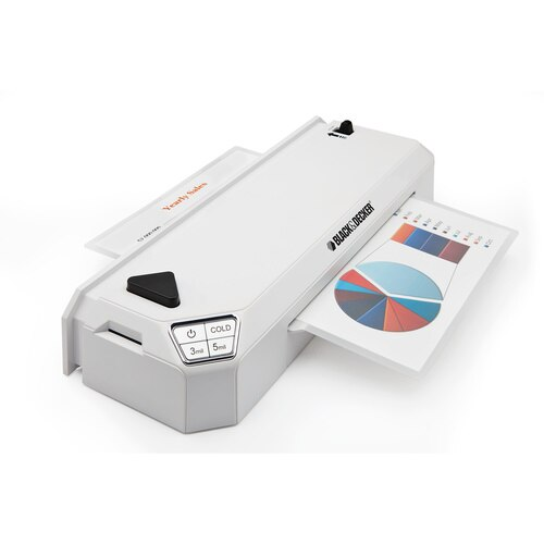 Black and Decker - Flash  95 inch Thermal Laminator - LAM95