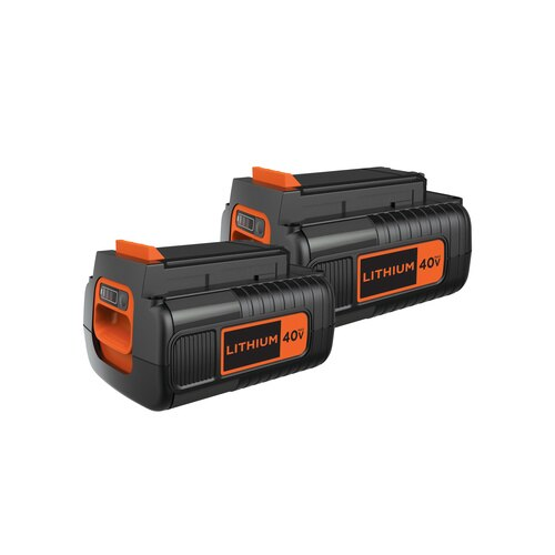 Black and Decker - 40V MAX 15Ah Li Ion Battery Pack - LBX1540-2