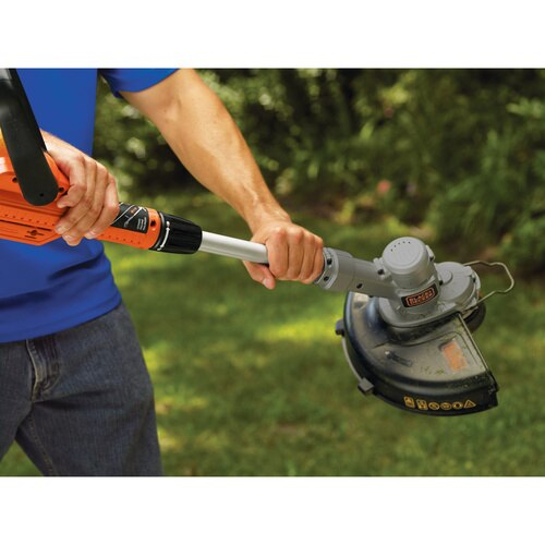 Black and Decker - 20V MAX Lithium 12 inch TrimmerEdger - LST300