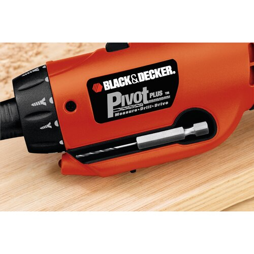 Black and Decker - PivotPlus 6V Rechargeable Screwdriver - PD600