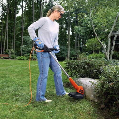 4 4 Amp 13 in  2-in-1 Trimmer/Edger
